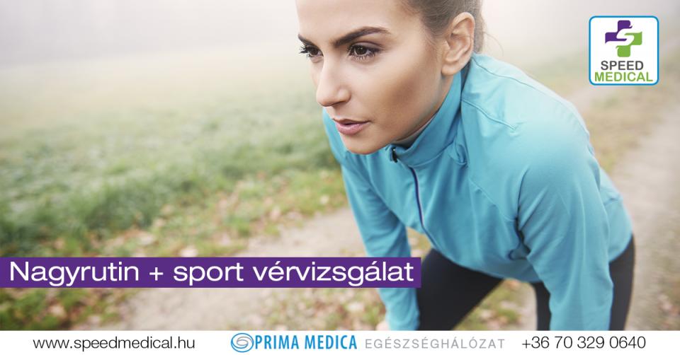 Nagyrutin + sport vérvizsgálati csomag
