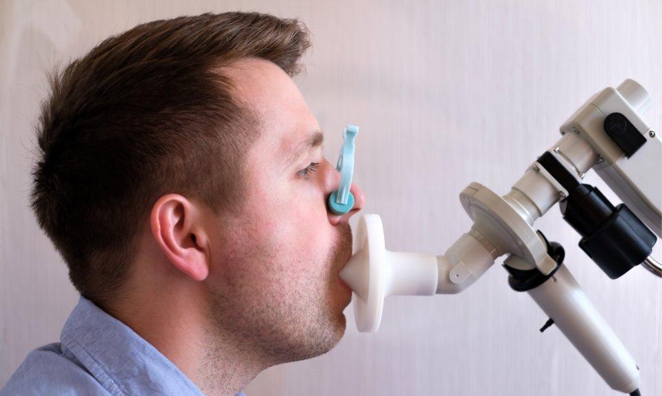 Asztma-COPD szűrés, légzésfunkció vizsgálat